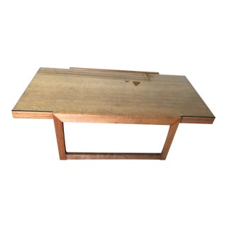 Mid Century Mahogany Coffee Table by Paul Laszlo for Brown Saltman For Sale
