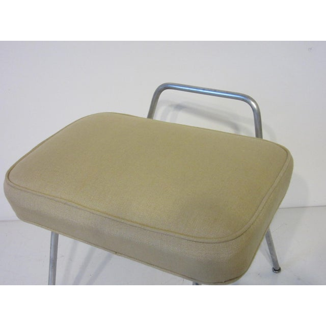 Metal George Nelson Vanity Stool for Herman Miller For Sale - Image 7 of 10