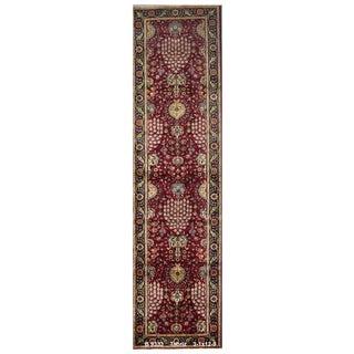 Vintage Persian Tabriz Rug - 3′1″ × 12′9″ For Sale