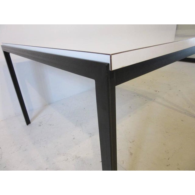 Contemporary Early Florence Knoll T-Angle Side Table by Knoll Associates For Sale - Image 3 of 6
