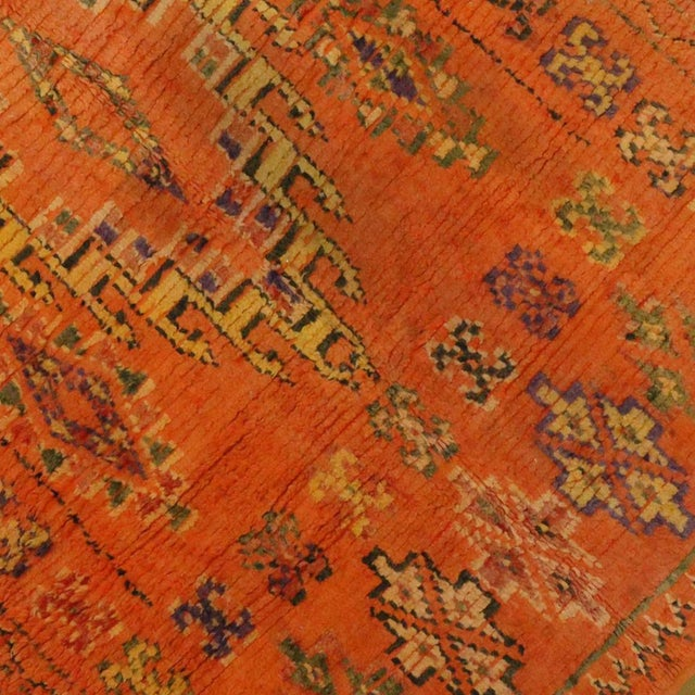 Vintage Berber Moroccan Rug, 4'11x7'11 For Sale - Image 5 of 5