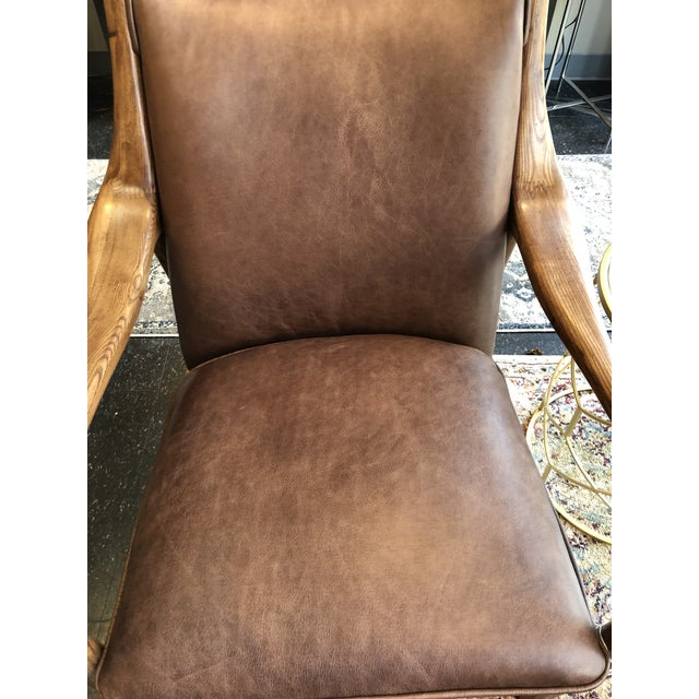 Contemporary Modern Kiannah Club Chair For Sale - Image 3 of 11