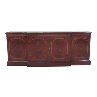 1990s Traditional Century Sutton Collection Mahogany Sideboard/Buffet For Sale