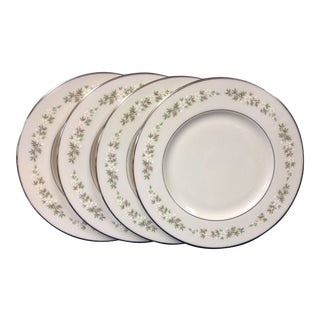 1900s Traditional Lenox Brookdale Salad Plates - Set of 4