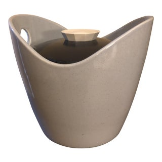 Mid-Century Insulated Ceramic Ice Bucket