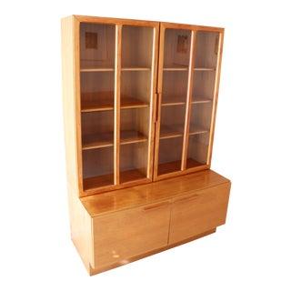 Kofod Larsen Danish Modern Teak Credenza Cabinet For Sale