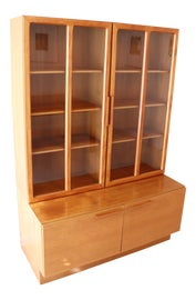 Image of Mid-Century Modern China and Display Cabinets