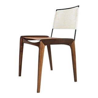 Fluxco Design Ld3 White Sling Dining Chair For Sale