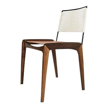 Fluxco Design Ld3 White Sling Dining Chair For Sale