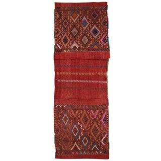 Vintage Red Turkish Saddlebag For Sale