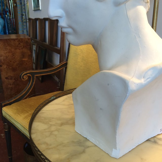 Plaster Bust Of David - Image 6 of 8