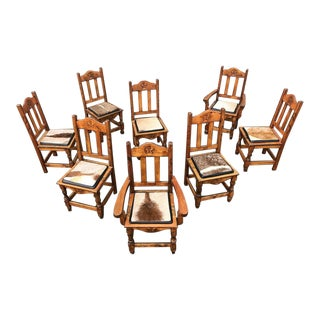 Custom-Made Lonestar Chairs - Set of 8