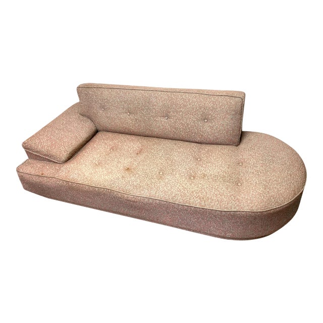 Vintage 1950's Mid-Century Modern Fainting Couch For Sale