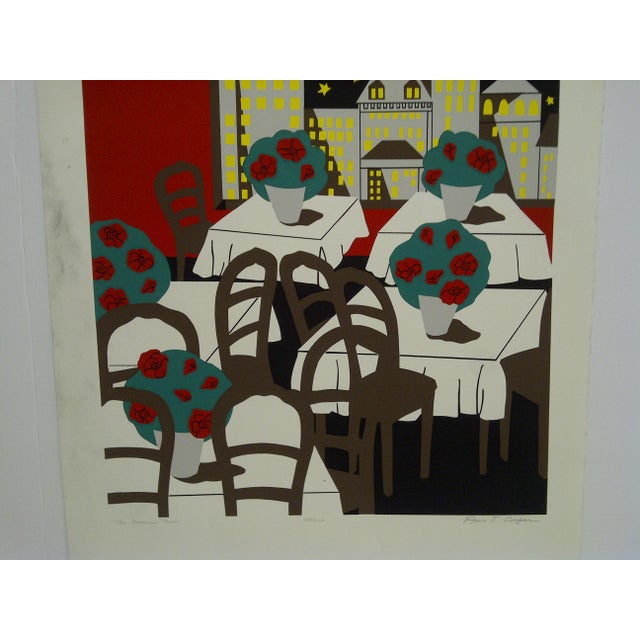 "Abstract Ann T. Cooper Signed Numbered (184/200) ""The American Plan"" Print For Sale - Image 3 of 6"