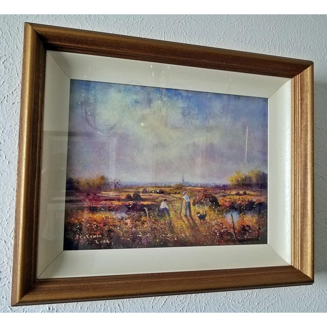 Lovely piece of original Irish Art, by one of our favorite Irish artists. Painting by popular and rapidly rising Irish...