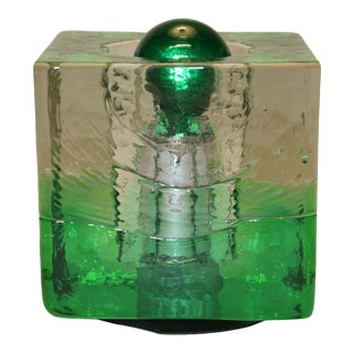 Giusto Toso Murano Glass Table Lamp, Mid-Century Modern For Sale
