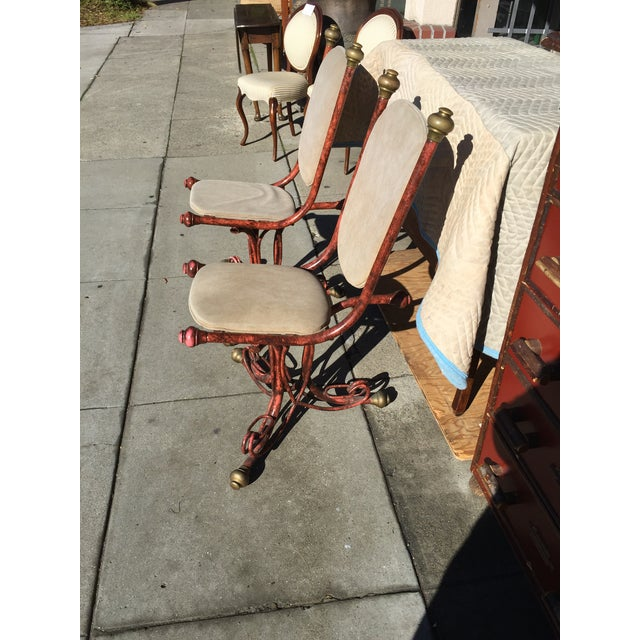 Arthur Court Brutalist Chairs - a Pair - Image 3 of 6