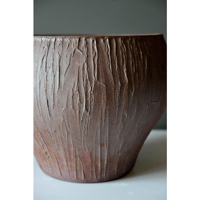 1970s Mid-Century Modern David Cressey for Architectural Pottery Stoneware Vessel For Sale In Los Angeles - Image 6 of 9