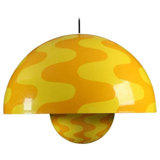 Large and Rare Flower Pot Pendant by Verner Panton/2 Available For Sale