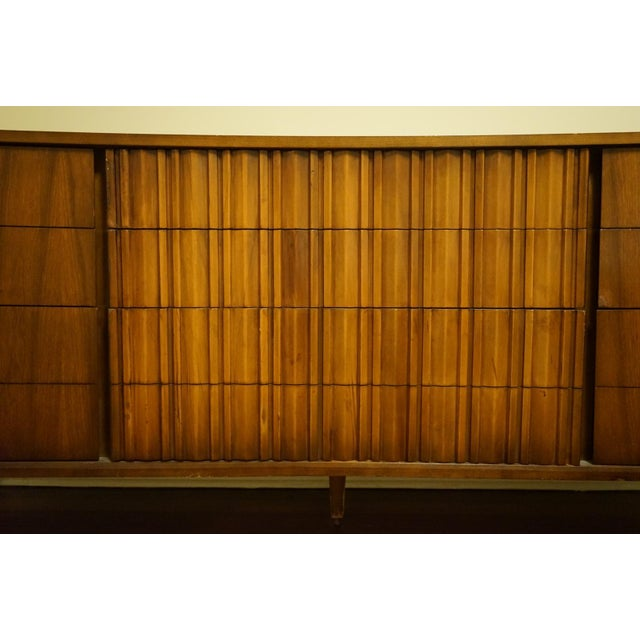 Mid-Century Modern 9-Drawer Dresser - Image 3 of 11