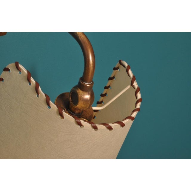 Alfred Muller Wall Lamp, Switzerland 1940s For Sale - Image 9 of 10