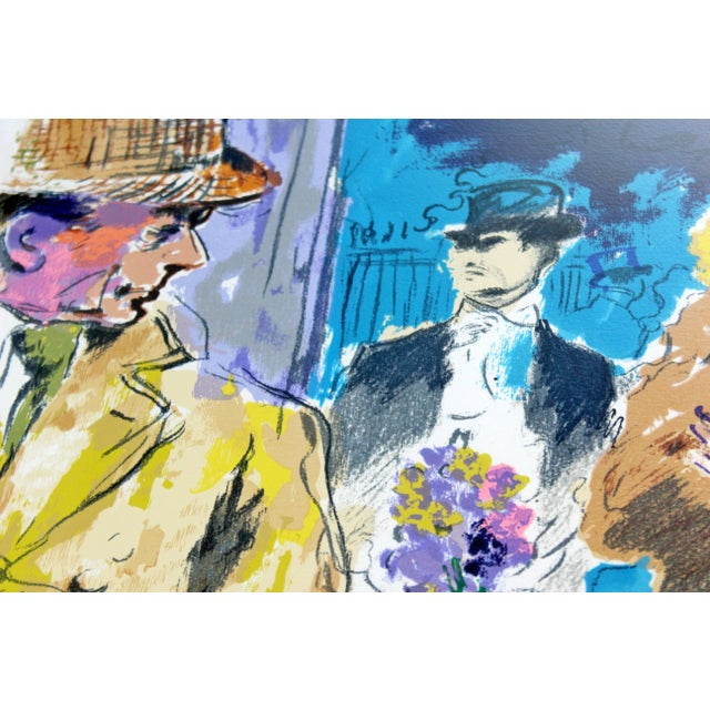 C Print Mid-Century Modern Leroy Neiman Litho Signed Numbered 1/300 My Fair Lady Framed For Sale - Image 7 of 11