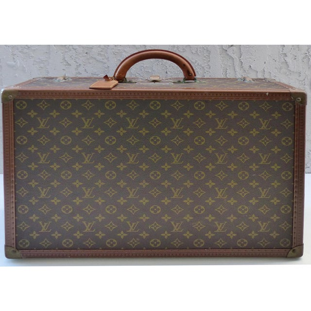 Louis Vuitton Hard Case Suitcase, 1950s For Sale - Image 11 of 11