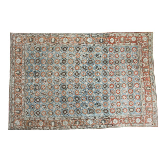 Vintage Veramin Carpet - 7′1″ × 10′9″ For Sale