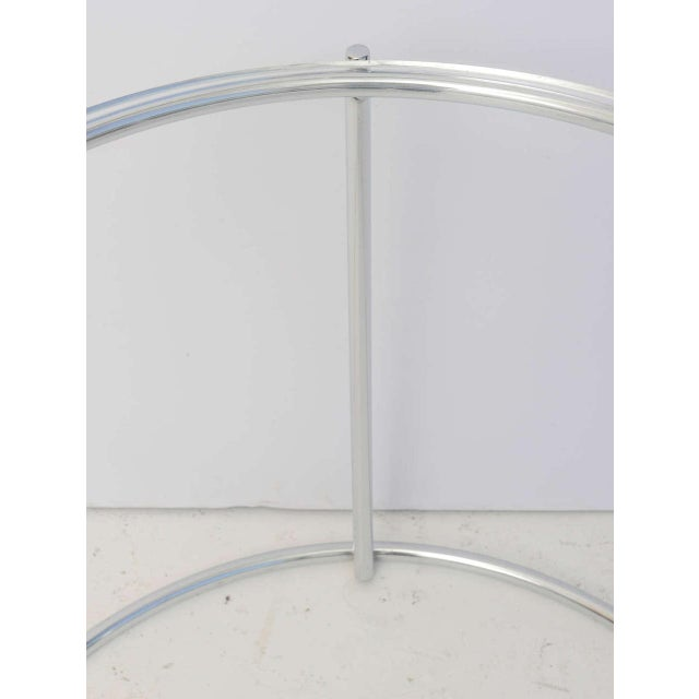 Round Polished Chrome Nesting Tables - Set of 3 For Sale In West Palm - Image 6 of 13