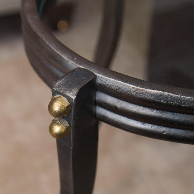 Steel Drink Table by Will Stone - Image 3 of 6