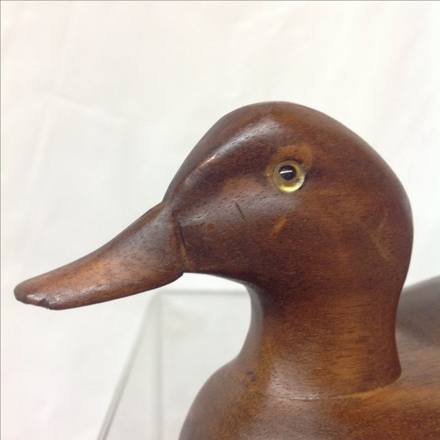1920s Carved Duck Decoy - Image 7 of 8