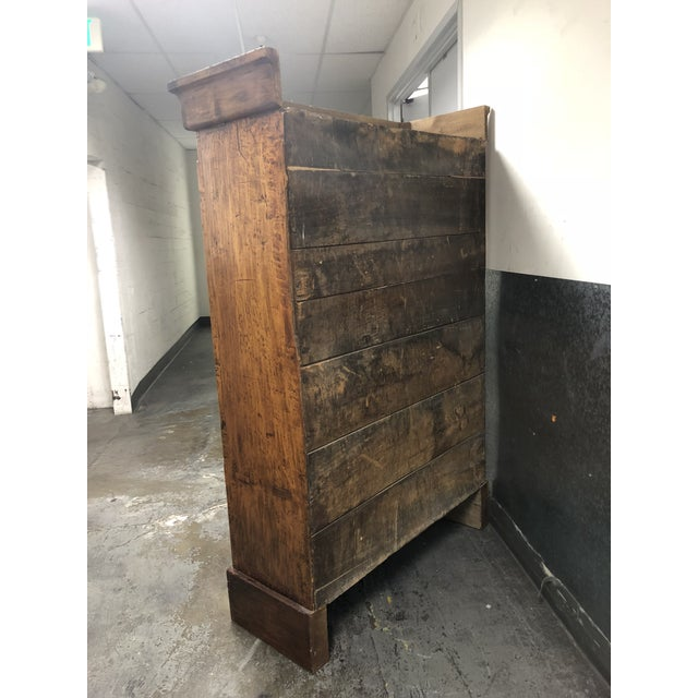 Vintage Pine Armoire - Image 5 of 10