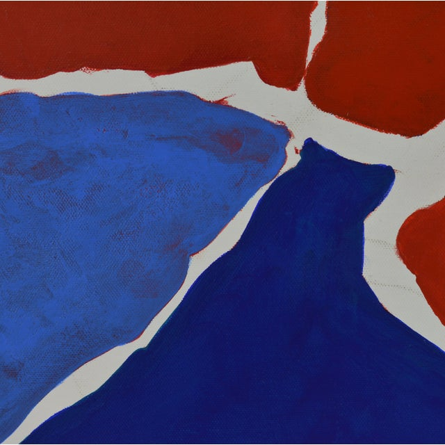 """December"" Contemporary Abstract Painting - Image 5 of 11"
