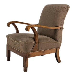 1920s Art Deco Lounge Chair