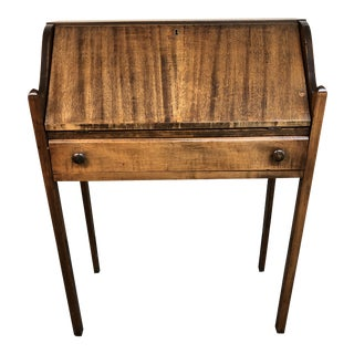 Petite Vintage Secretary For Sale