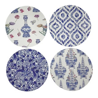 Royal Delft Coasters, Set of 4 For Sale