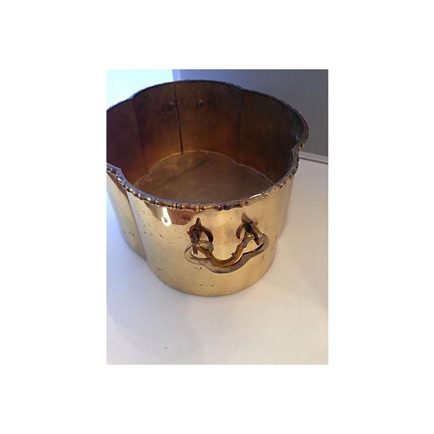 Brass Bamboo Style Planter - Image 6 of 6