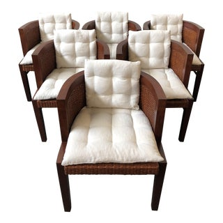 Ralph Lauren Home Modern Sands Dining Chairs - Set of 6 For Sale