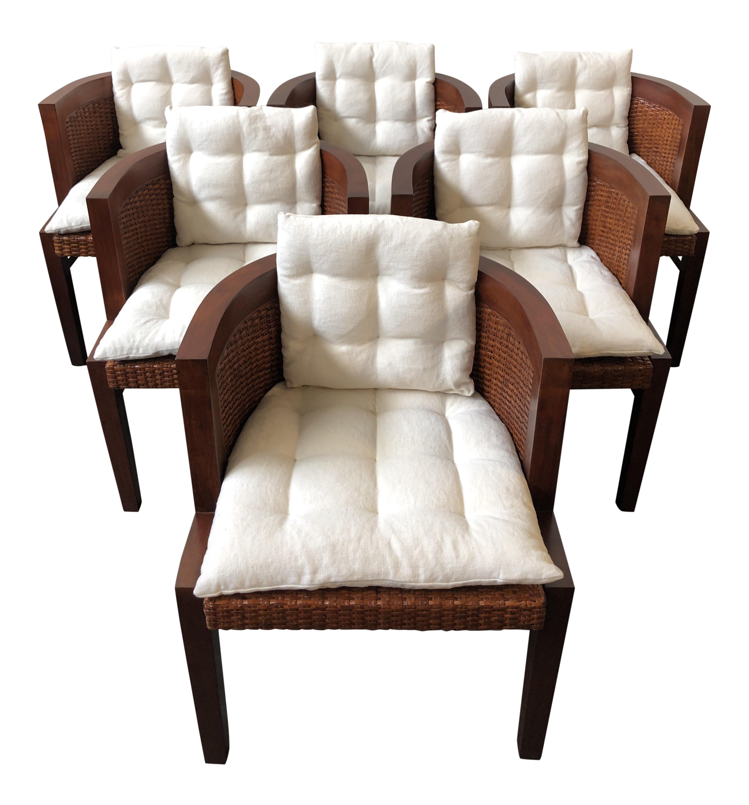 Ralph Lauren Home Modern Sands Dining Chairs   Set Of 6 For Sale