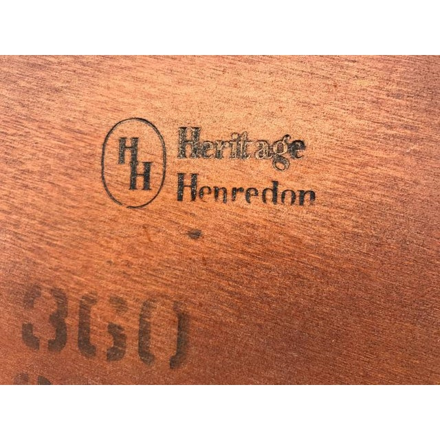 Henredon Heritage Mahogany Coffee Table For Sale In Los Angeles - Image 6 of 6
