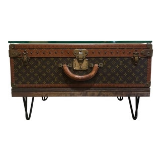 Louis Vuitton Alzer 70 Trunk Coffee Table For Sale
