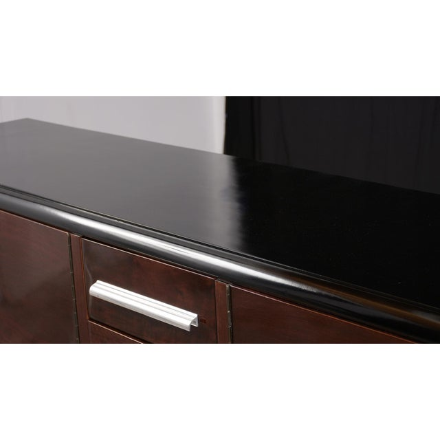 French Art Deco-Style Lacquered Buffet For Sale - Image 10 of 13