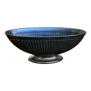 Black Wedgewood Bulb Planter For Sale