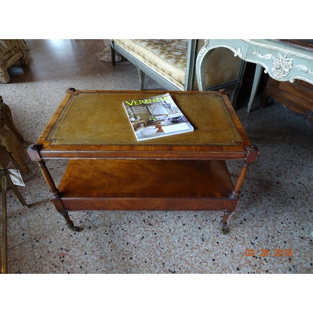 Vintage French Coffee Table For Sale - Image 10 of 11