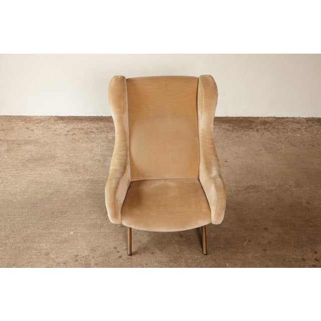 1960s Mid-Century Modern Marco Zanuso for Arflex Senior Chair For Sale - Image 9 of 12