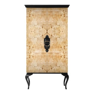 Covet Paris Guggenheim Poplar Root Cabinet For Sale
