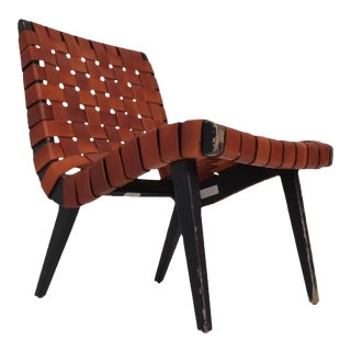 Pair of Jens Risom Lounge Chairs for Knoll For Sale