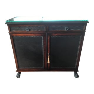 Regency Theodore Alexander Armoury Collection Side Cabinet For Sale