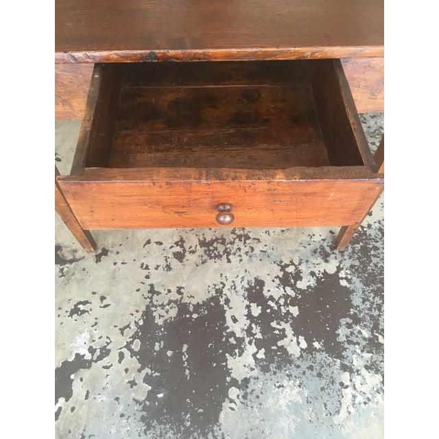 1800s Antique Rustic Desk - Image 3 of 7