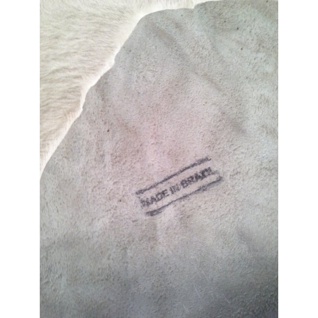 Authentic Cow Hide Rug - 5′11″ × 6′11″ For Sale - Image 4 of 7